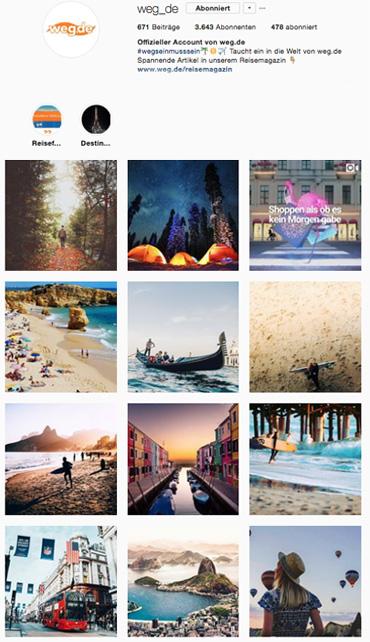 weg.de Instagram